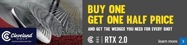 Cleveland wedge offer - buy 1 get 1 half price